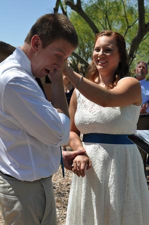 Deifik brockman wedding